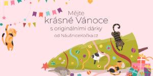 Vánoční akce - Náušnice kočka - nausnicekocka.cz
